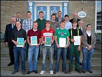 Landeswettbewerb 2009, Sieger