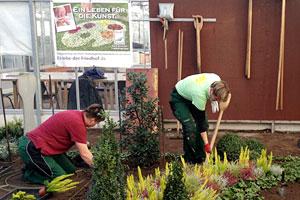 Weiterbildung im Gartenbau