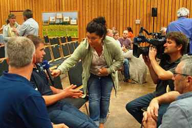WDR 5 zu Besuch in Haus Riswick